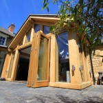 oak framed extension-medbourne