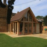 oak framed extension