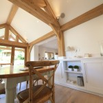 dining room oak frame house