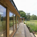 glazed oak extension