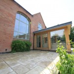 glazed oak extension