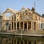 oak framed house