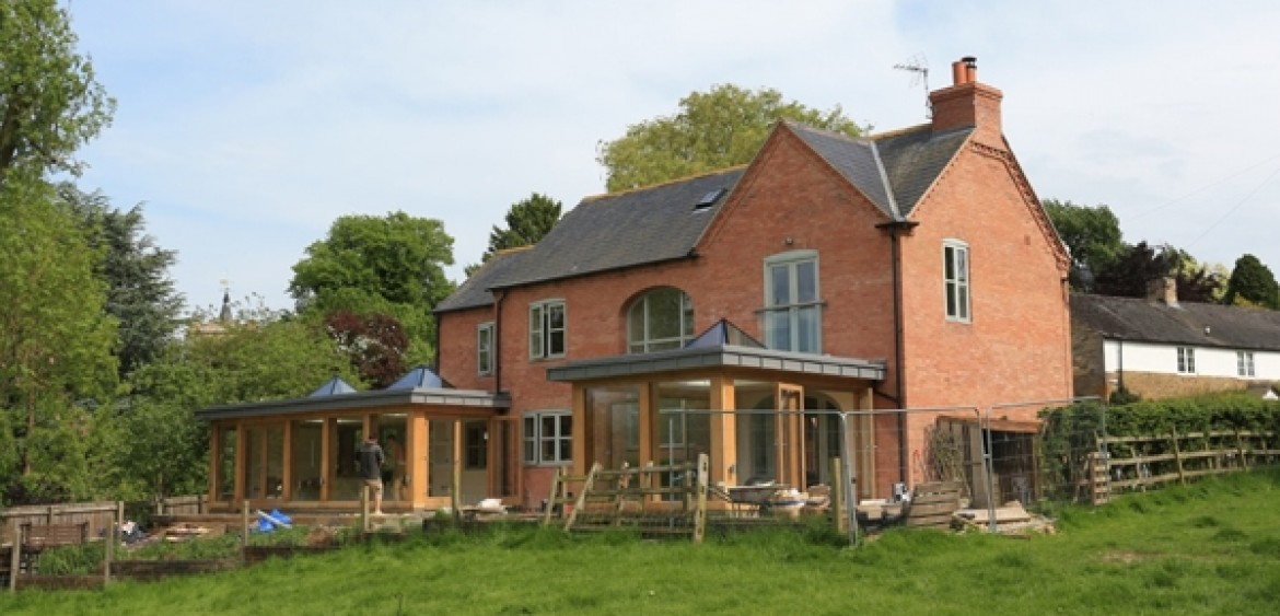 Contemporary Oak Frame Extensions