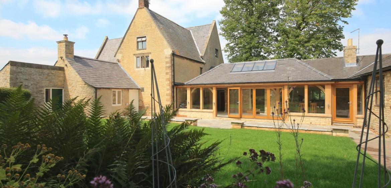 Oak frame Stone Barn renovation